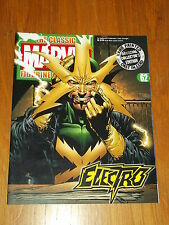 MARVEL CLASSIC FIGURINE COLLECTION #62 ELECTRO MAGAZINE ONLY NO FIGURE
