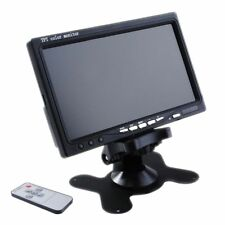 7'' inch LCD Color Screen 2 Video Input Car Rear View Camera DVD VCR Monitor
