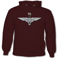 The Parachute Regiment Cap Badge Hoodie 1 2 3 4 10 Para Regt. Reg Paras SFSG