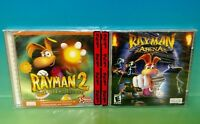 Rayman 2: The Great Escape & Rayman Arena PC Brand NEW Sealed! 2 for 1 Pack !