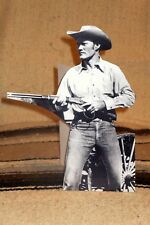 """""""Rifleman"""" Staring Chuck Connors TV Western Tabletop Display Standee 10.5"""" Tall"""
