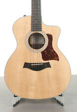 Taylor 254ce 12-string Acoustic-Electric Guitar - Natural - Crack in the Top