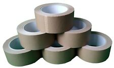 6 x Papierklebeband Naturkautschukkleber 50m X 50mm umweltgerechtes Verpacken