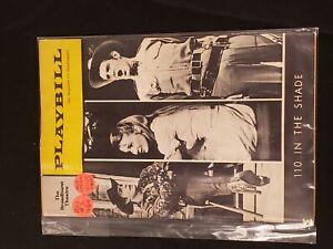 1964 MARCH VOL 1 #3 PLAYBILL-BROADHURST THEATRE *110 IN THE SHADE*SWENSEN/WARREN