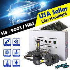 2x H4 9003 HB2 COB CREE LED Headlight 6000K 160000LM Bulbs for Low / High Beam @