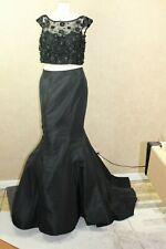 9550a94f167f Sherri Hill Bling Poof Dress two piece prom dress, black, size 8 New ______