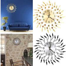 Unique Wall Clock Large Decorative Quiet Clocks Branch Design Wall Art Clock