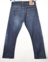 Levi's Strauss & Co Hommes 506 Standart Jeans Jambe Droite Taille W34 L28 BBZ373
