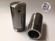 "Harley 49mm Fork Tube 3"" Extensions for Dyna Street Glide Dresser Breakout V-Rod"