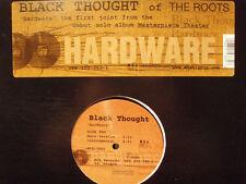 """BLACK THOUGHT + DJ KRUSH - HARDWARE (12"""")  2000!!!  RARE!!!  THE ROOTS!!!"""