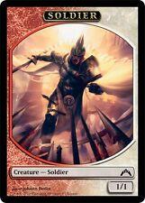 Spielstein Soldat 2x Token Soldier Commander 2014 Magic