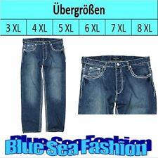 Hosengröße 40 stonewashed Herren-Jeans aus Baumwolle