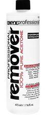 Onyx Professional 100% Acetone Nail Polish Remover Artificial/Polish/Gel Polish