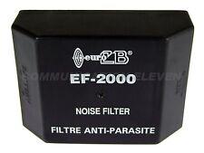 Filtre De Bruit/Interférence Suppresseur 12v/24v 20 Ampères Euro CB EF-2000 #