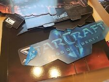 Starcraft 2 Wings Of Liberty Promotional Display - NEW w/ window cling & poster