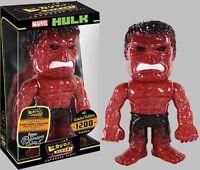 Funko Hikari Marvel The Hulk Red Glitter Sofubi Limited Edition Vinyl Figure NEW