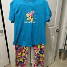 Women's 'FUR-EVER DOGS' Pajama Sleepwear Set Dogs NEEDY ME Size 2X NEW