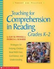 Teaching for Comprehension in Reading, Grade K-2 : Strategies for Helping...
