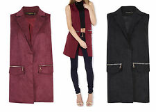 Unbranded Faux Suede Outdoor Coats & Jackets for Women