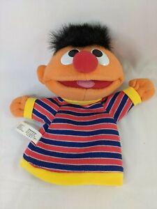Fisher Price Sesame Street Ernie Hand Puppet Plush 2004 Stuffed Animal Toy