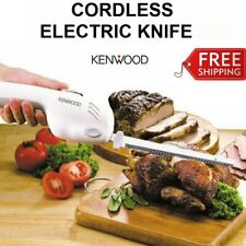 Cordless Electric Knife Meat Roast Cutting Knives Portable Stainless Steel Blade