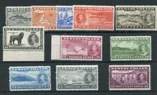 Canada Newfoundland 1937 Add'l Coronation set SG257/67 MLH/MM