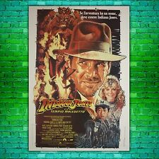 Original Movie Poster Indiana Jones and the Temple of Doom - 100x140 CM
