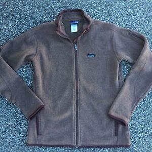 Patagonia better sweater jacket full zip brown women's large L