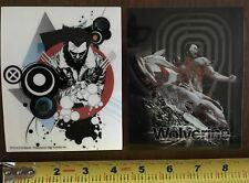 Two Wolverine sticker set Licensed NOS (2) stickers