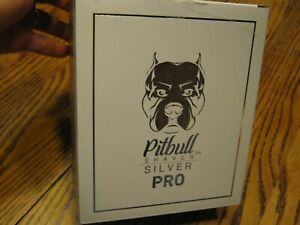 Skull Shaver Pitbull Shaver Silver Pro Electric Razor Wet/Dry USB Rechargeable