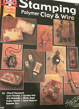 Suzanne McNeill Stamping w/ Polymer Clay & Wire jewelry making leaflet magazine