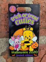 Trick Or Treat Cuties Pin Disney Halloween 2020 Winnie The Pooh & Piglet LE 5000