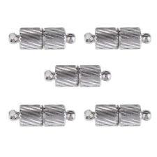 5 Sätze 15x5mm Silber Überzogene Magnetverschlüsse Halskette Schmuck