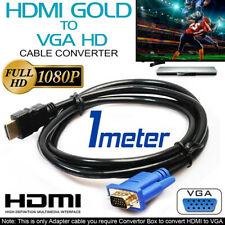 HDMI Cable Computer HDMI TO VGA 1080P HD With Audio Adapter Interface TV Digital