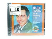 MARIO LANZA You Do Something To Me Music CD New Sealed