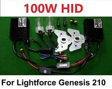 100W HID Conversion Kit for Lightforce Genesis 210 New Model Off Road SpotLights