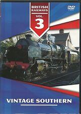 VINTAGE SOUTHERN DVD BRITISH RAILWAYS VOLUME 3 - TRAINS