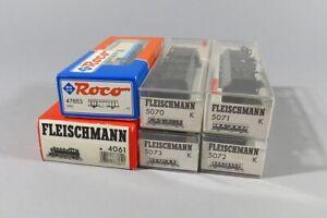 H 82864 Sammlung originalverpackter Fleischmann und Roco Eisenbahnen