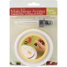 Matchless AROMA FRAGRANCE DISH & Eyedropper; No burning; Use Scent of Choice!