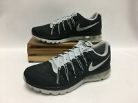 Nike Air Max Excellerate 5 Running Shoes Black Silver 852692-001 Men's NEW