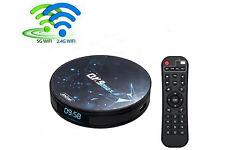 Android tv box 6K HD 10.0 64gb wifi 2.4 telecomando 1080P dual band 5G QK9MAX