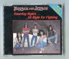 Flotsam & Jetsam  cd-maxi  SATURDAY NIGHT'S ALL RIGHT FOR RIGHTING © 1988 - 4 tr