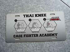 CAGE FIGHTER-Plastic License Plate