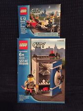 LEGO 40110 & 60006 City Coin Bank & Police ATV *NIB*