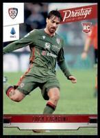 2019-20 Chronicles Soccer Prestige Base #218 Luca Cigarini - Cagliari Calcio
