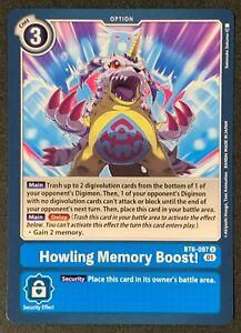 Howling Memory Boost! | BT6-097 U | Uncommon | Blue | Double Diamond | Digimon
