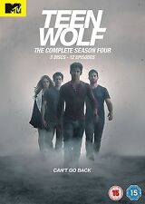 Teen Wolf Complete Series 4 DVD All Episodes Fourth Season Original UK R2 NEW