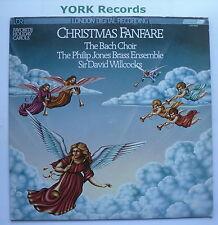 CHRISTMAS FANFARE - Sir David Willcocks / The Bach Choir -Ex LP Record LDR 10028