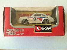 BBURAGO BURAGO PORSCHE 911 TURBO COD. 4147 ANNEE 1983 ECHELLE 1/43 EN BOITE