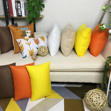 Custom Text Solid Cushion Cover Throw Pillow Case/Cover Decor for Car Couch Sofa